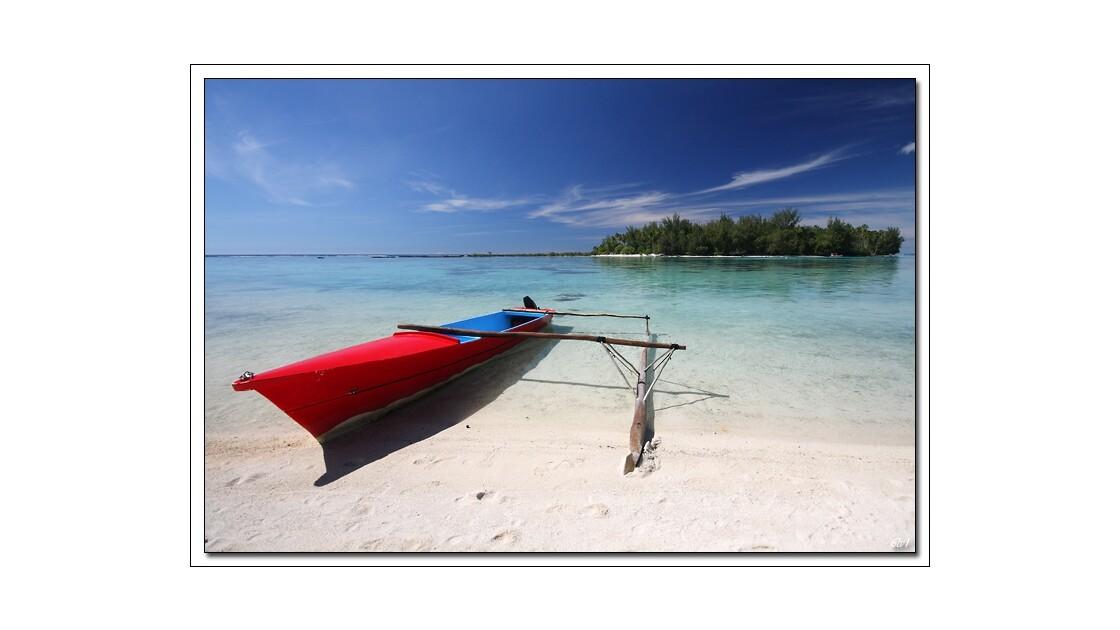 Polynésie - Moorea - Motu Fareohe