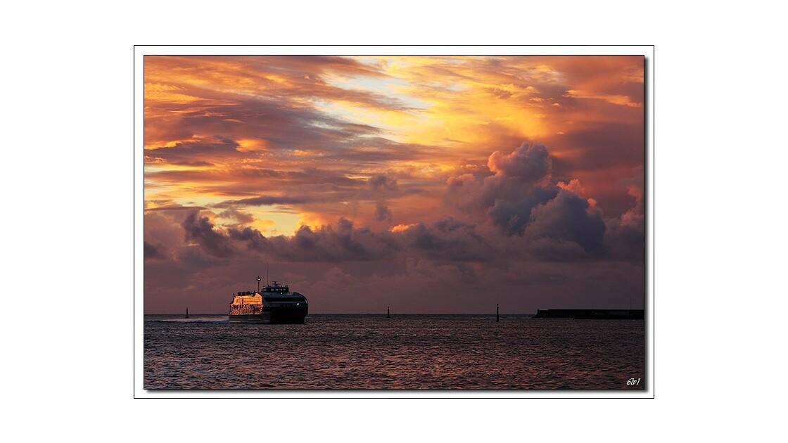 Polynésie - Tahiti - Coucher de soleil
