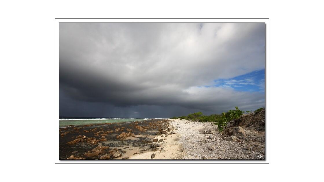 Polynésie - Fakarava -  Côté mer