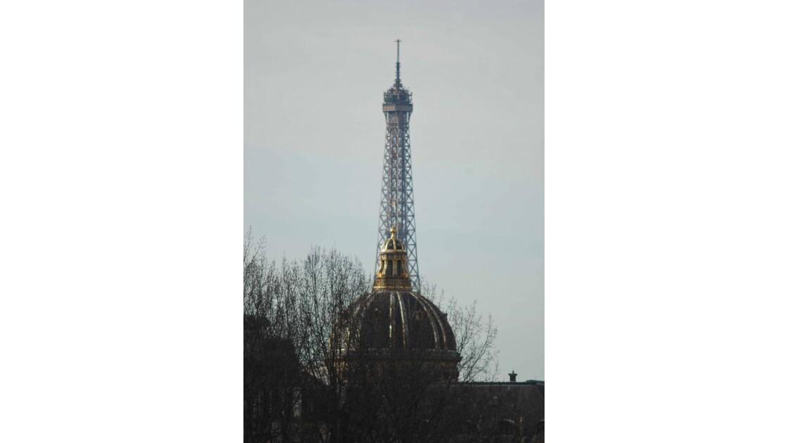 Paris - le dome et la tour