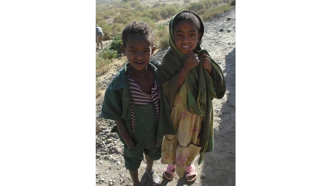 Enfants, près de Adwa