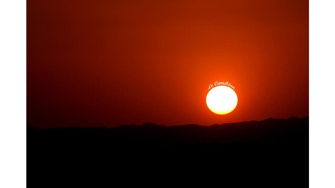 Coucher de soleil.....