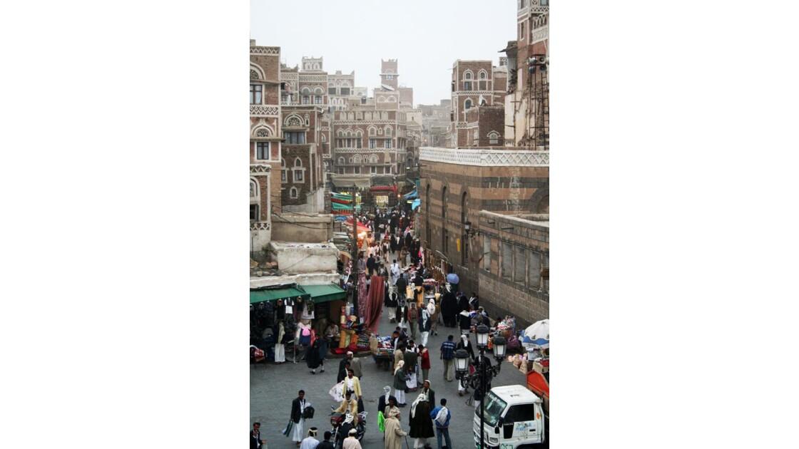 Sanaa, direction le Souk