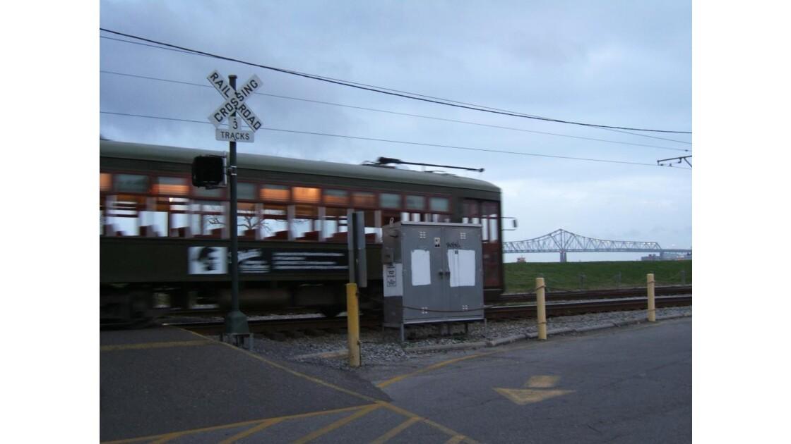 New Orleans' tram