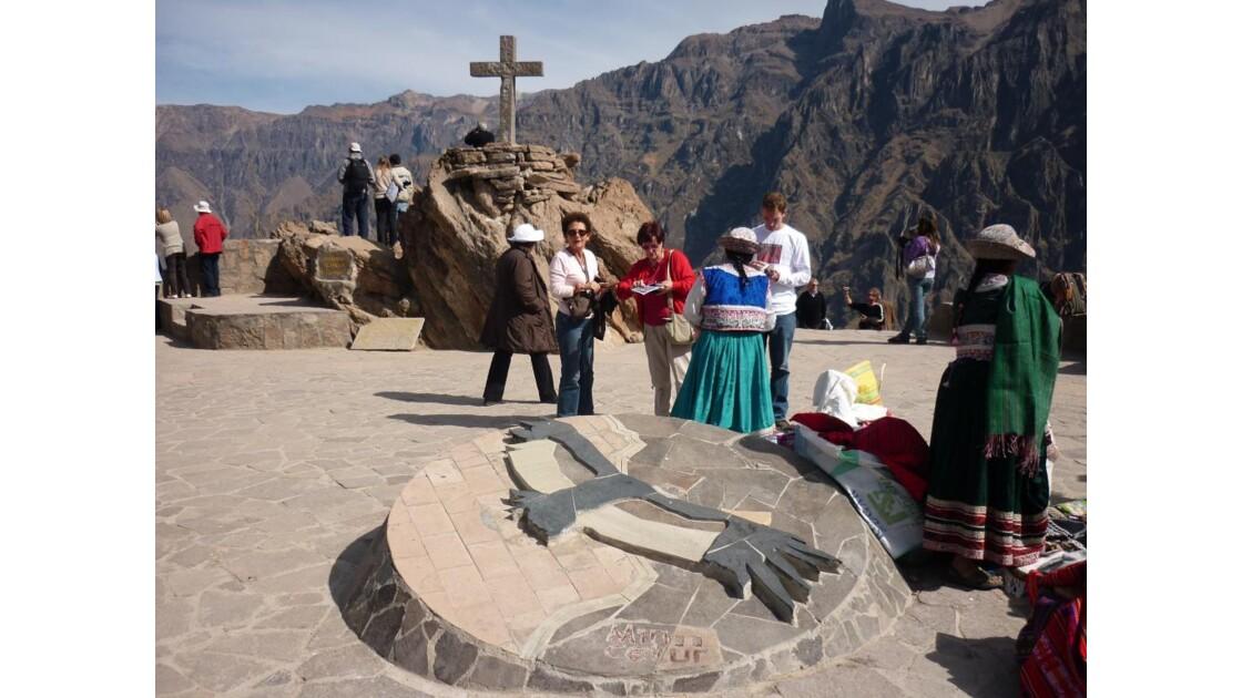 Cruz du Condor au Canyon du Colca