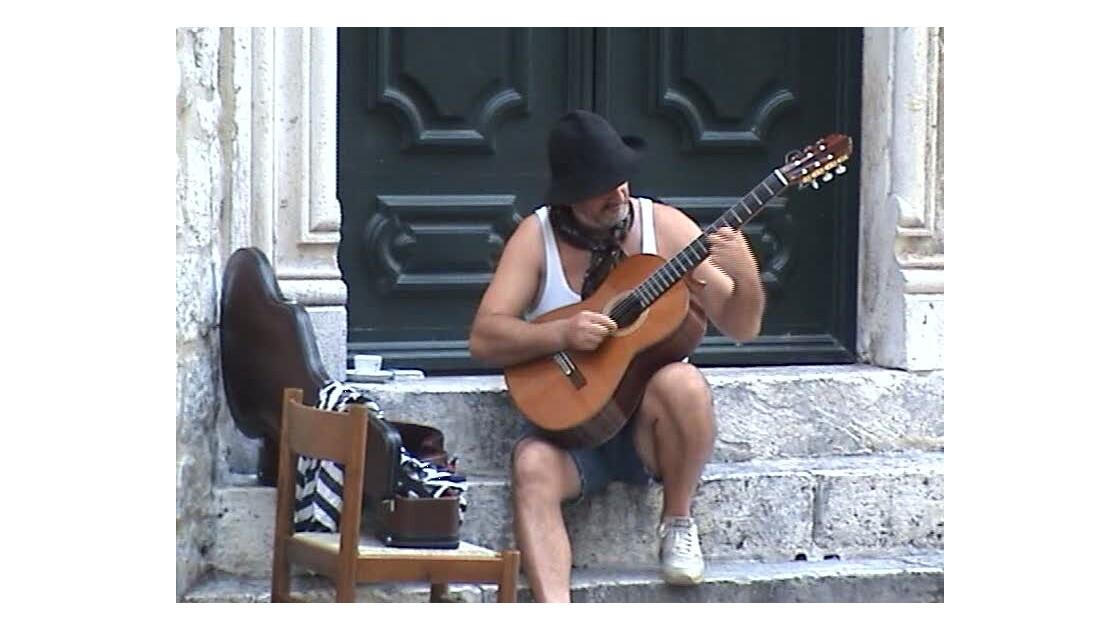 Monténégro Kotor Guitariste