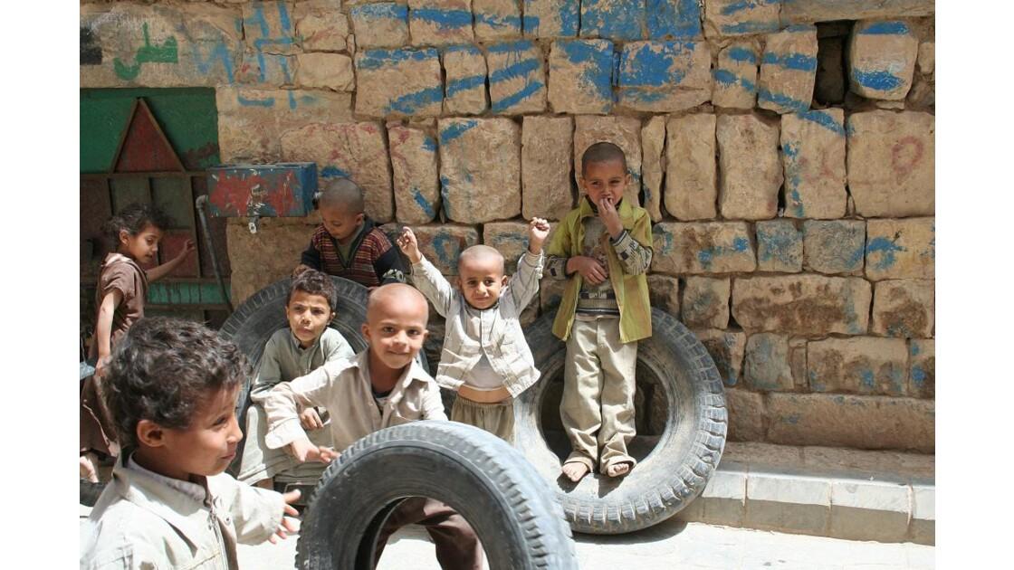 Amran, les enfants