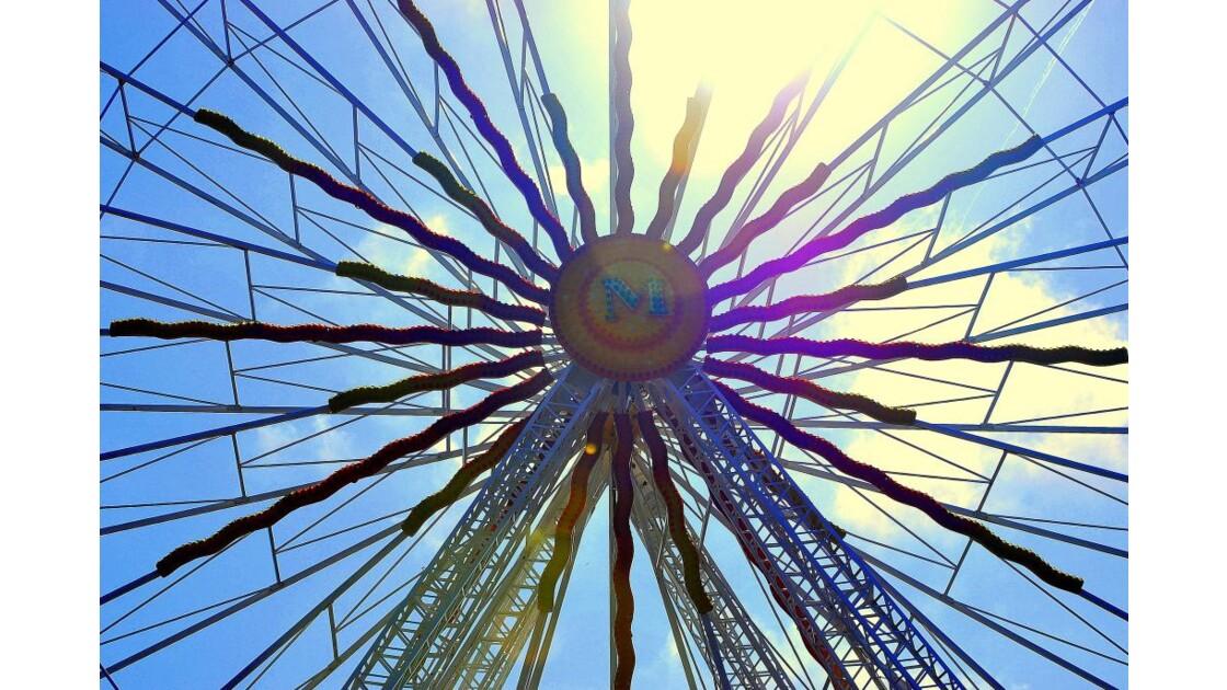 Grand soleil de la roue