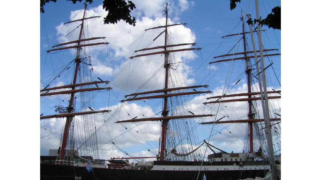 voilier à Copenhague