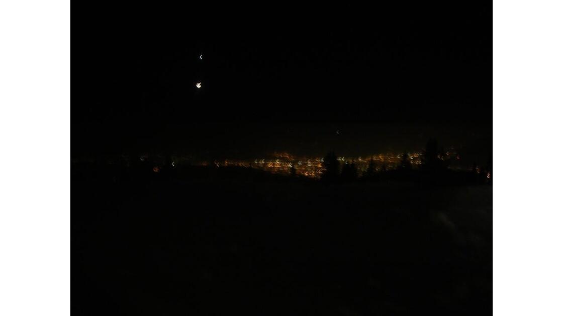 petit effet avec Grenoble de nuit