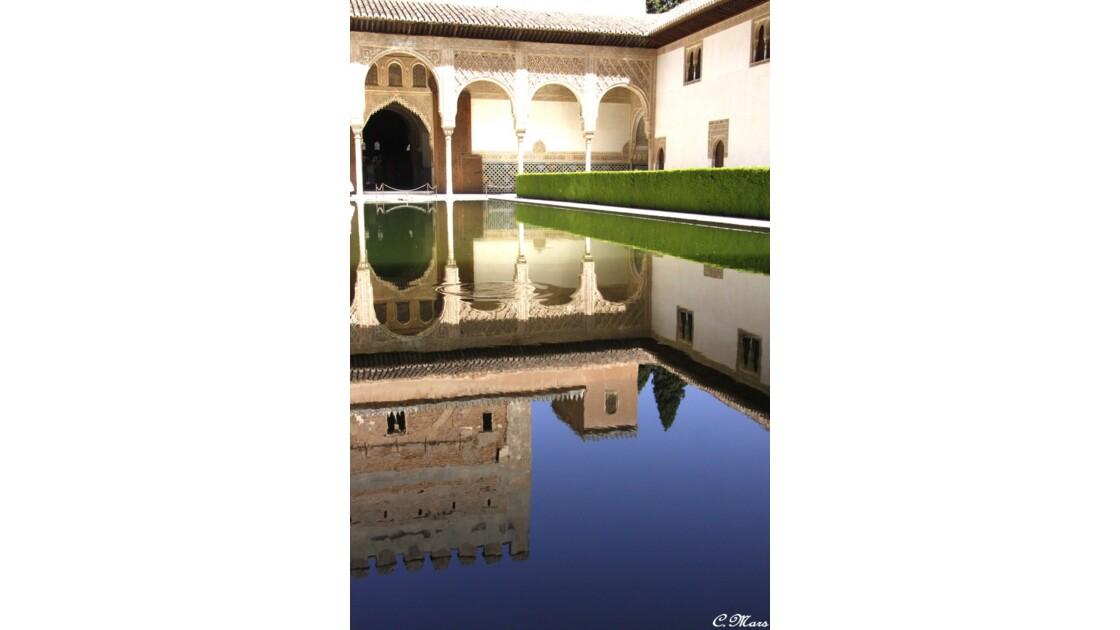 reflet sur l'alhambra