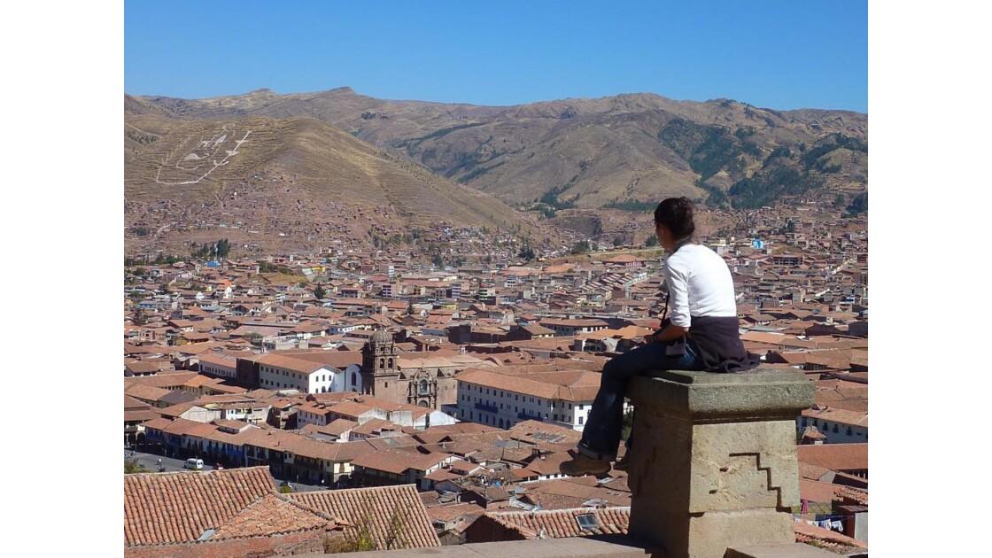 Perou-Vue sur Cusco