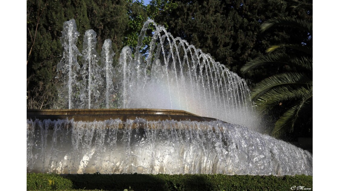 Fontaine des jardins