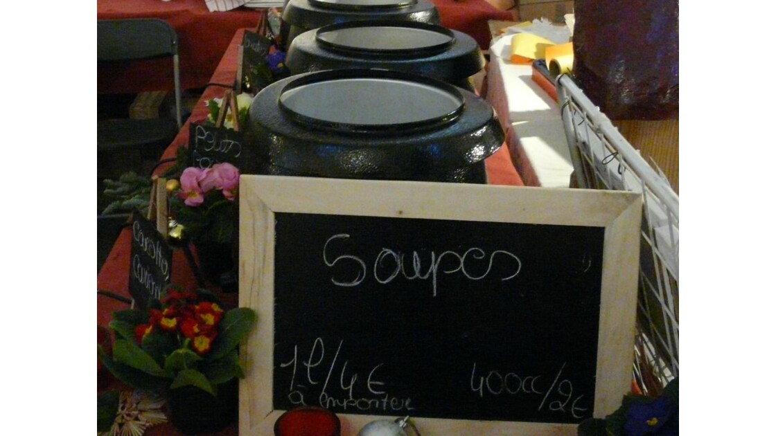 Ma pause soupe!