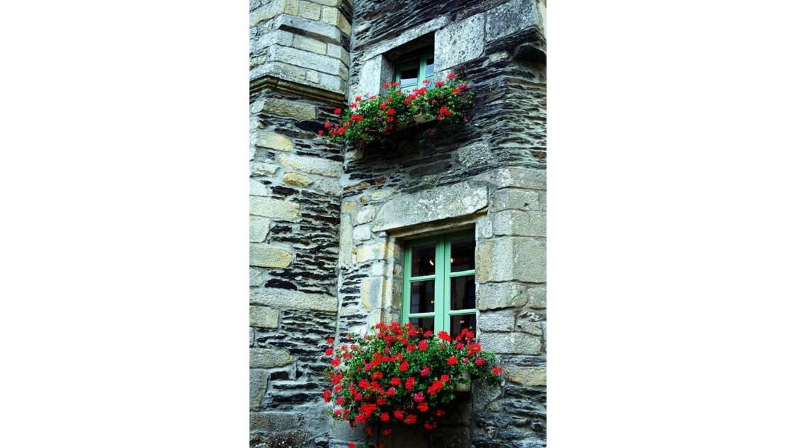 façade fleuries .