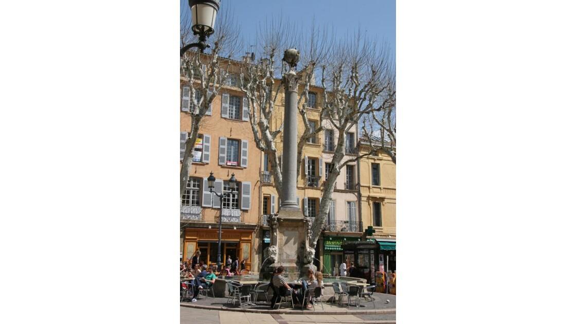 Fontaine de l'Hôtel de Ville Aix en Pce
