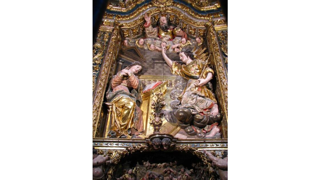 Gérone: cathédrale:l'Annonciation