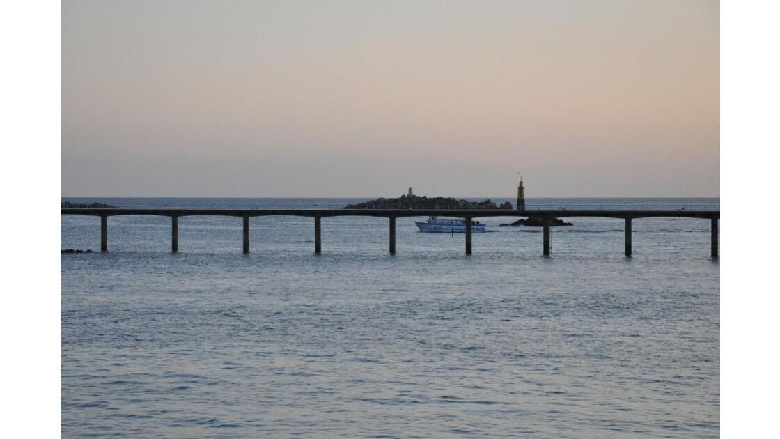 Route maritime pour Batz