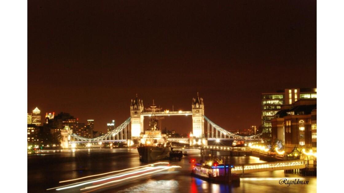 TowerBridge in the night