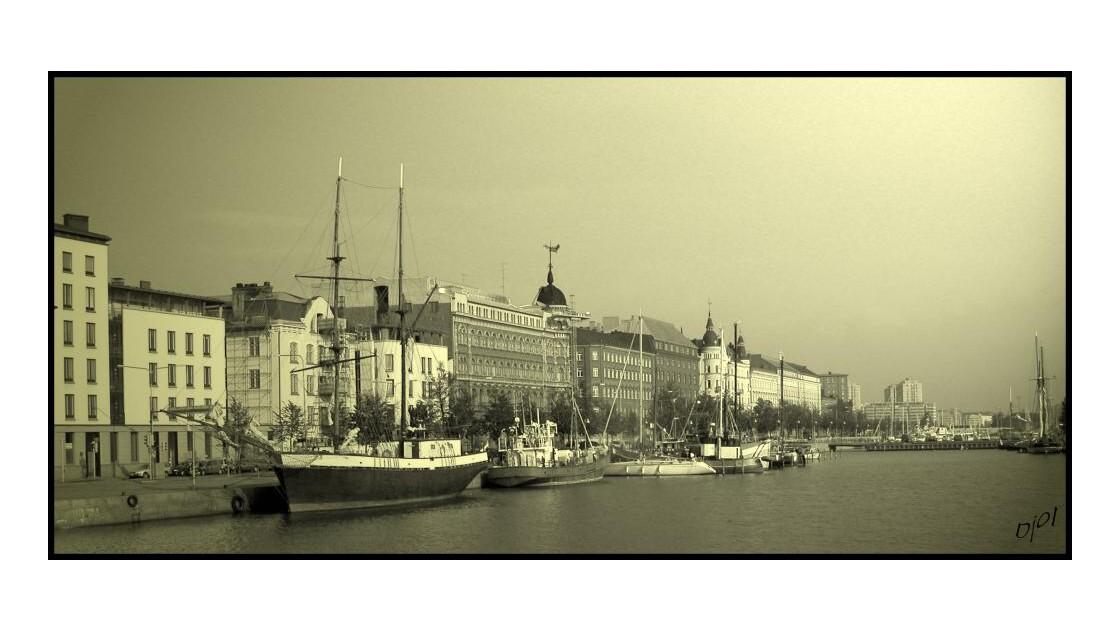 En flanant dans Helsinki