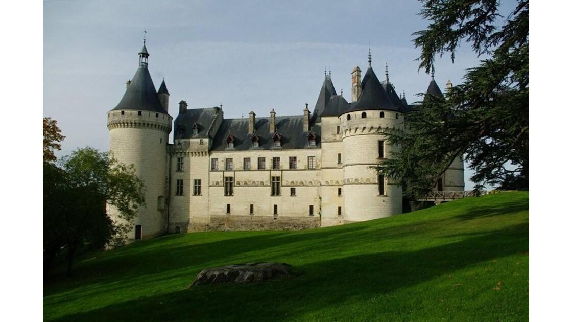 Château de Chaumont :vue latérale.