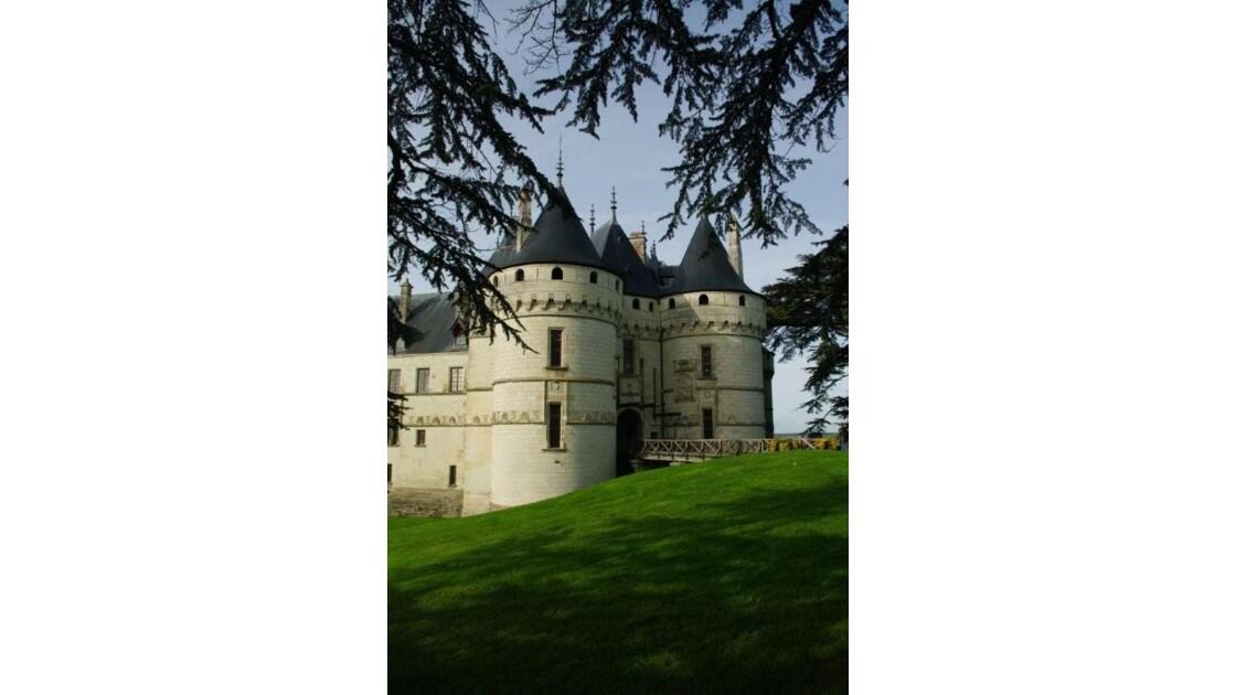 Château de Chaumont: l'entrée.