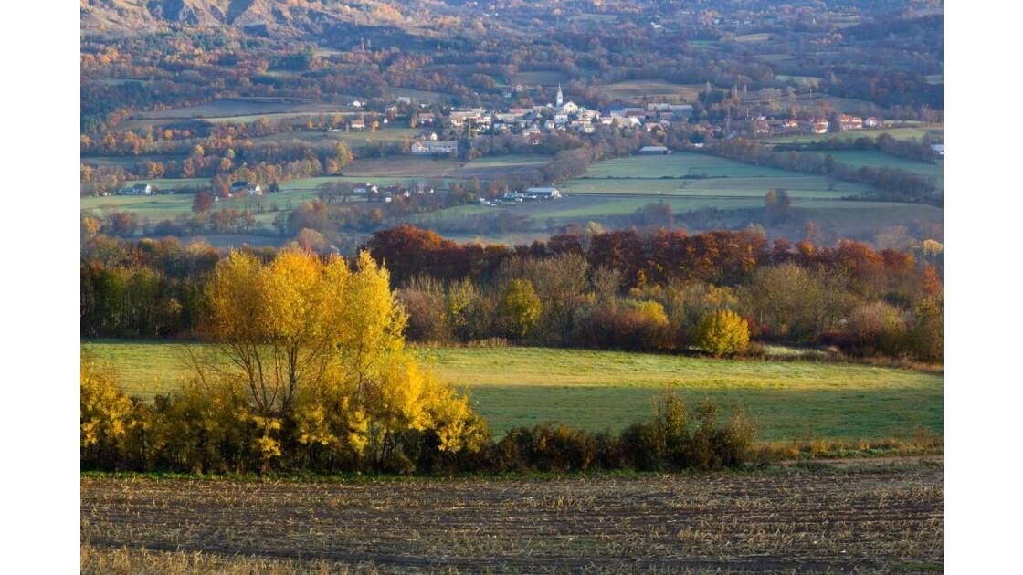 St Julien en Champsaur, l'automne