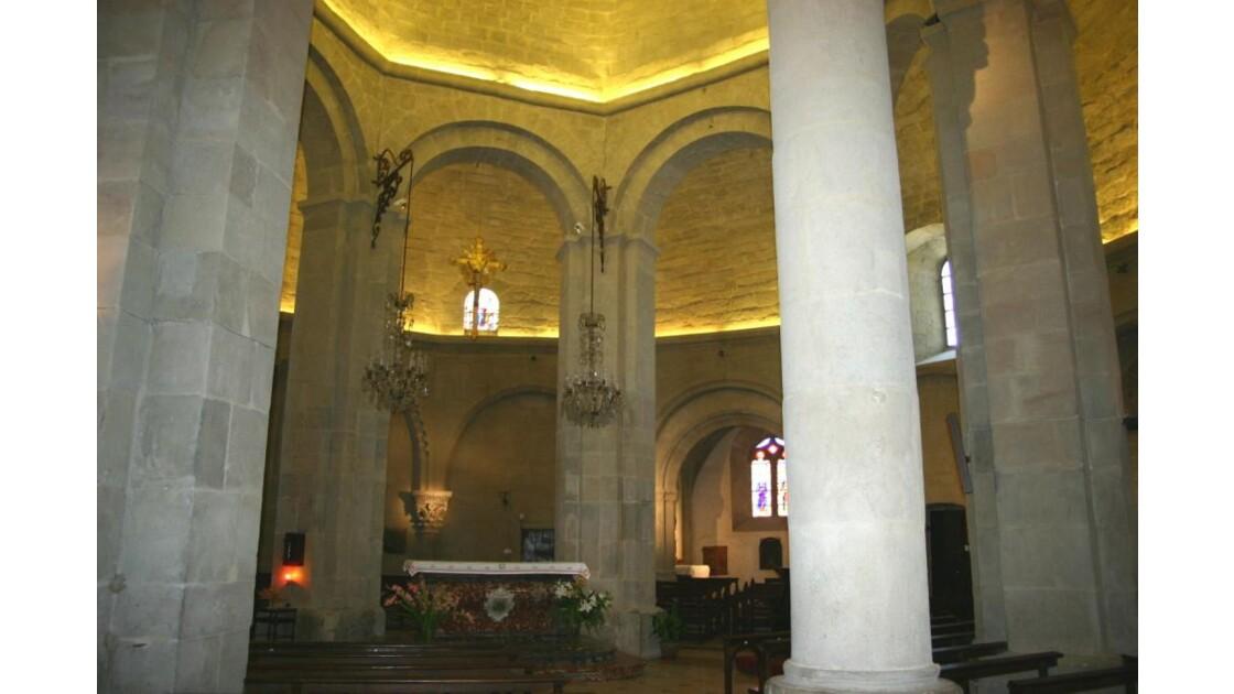Rieux-Minervois église ronde