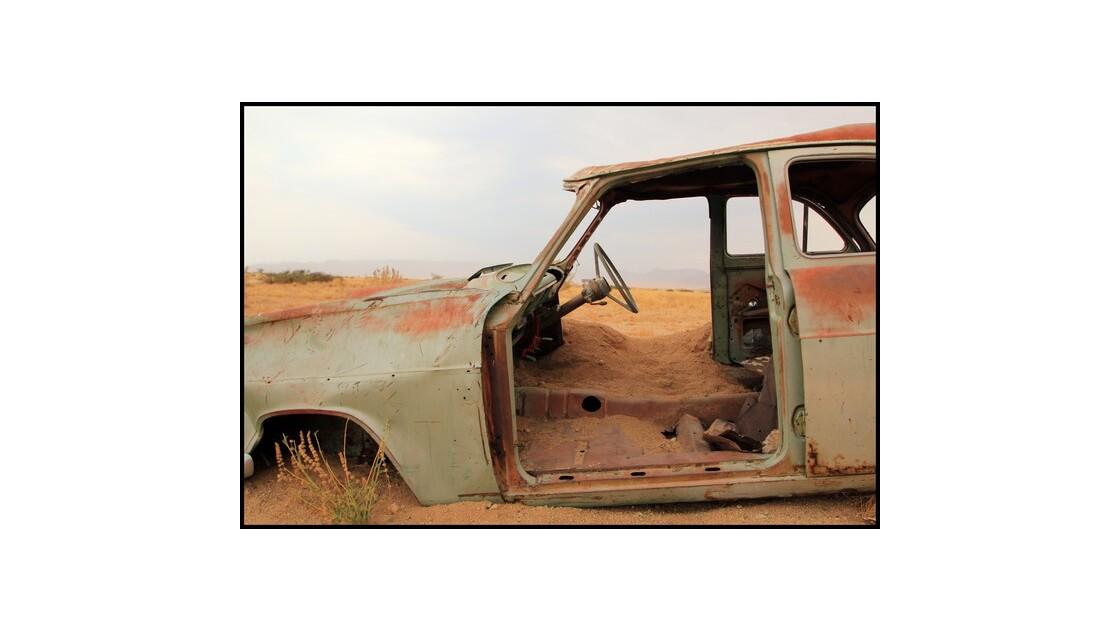 voiture en Namibie