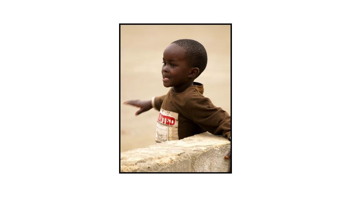 Enfants des townships de Swakopmund