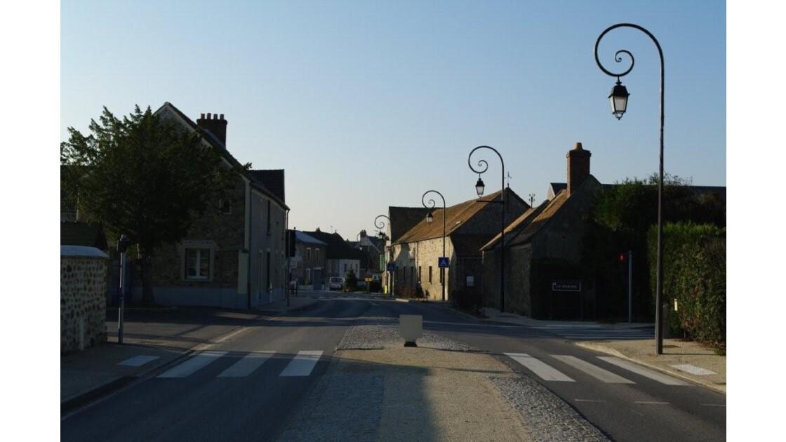 rue principale de Gometz-la-Ville.