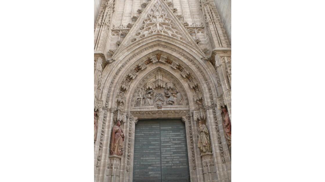 porte cathédrala de Séville
