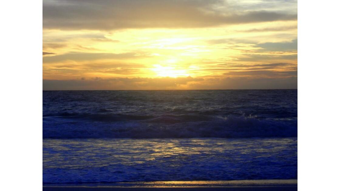 Lever du soleil Tulum