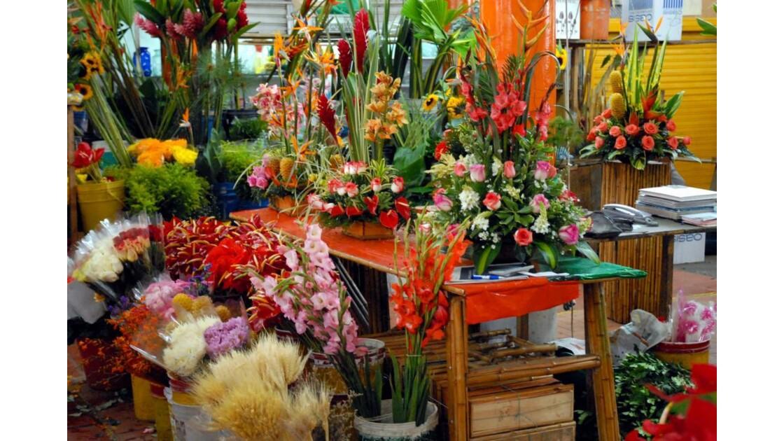 Cali marché aux fleurs 1