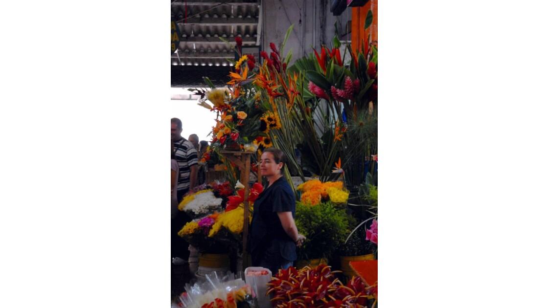Cali marché aux fleurs 3