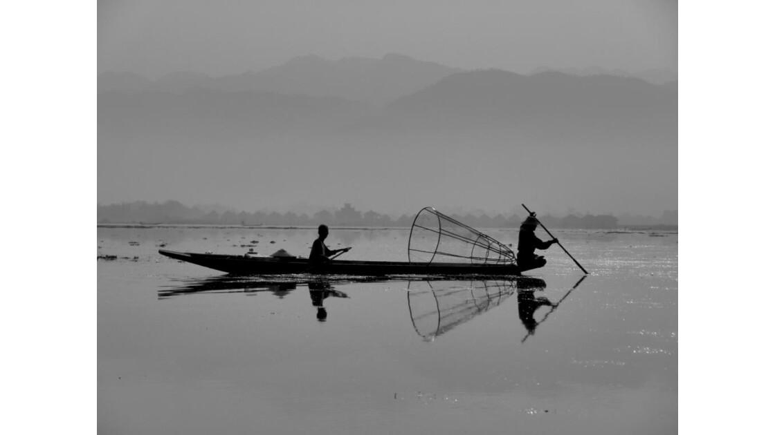 Myanmar-Pecheur au Lac Inle