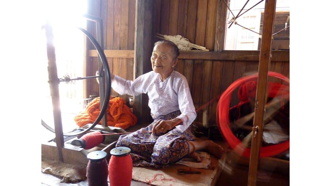 Myanmar-Tissage