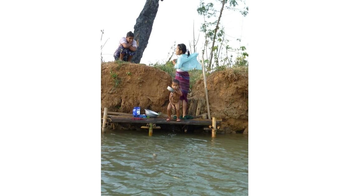 Myanmar-Baignade