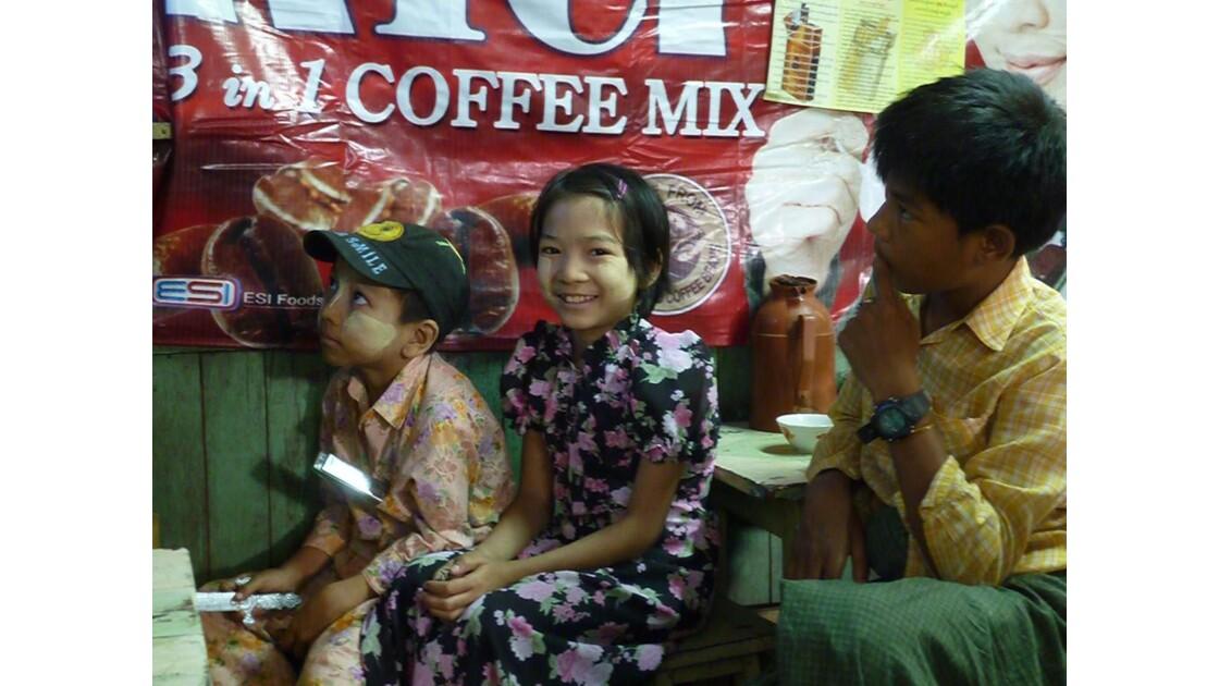Myanmar-Marché de Mandalay