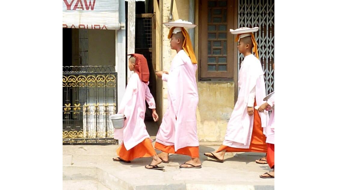Myanmar-Nonnes Birmanes