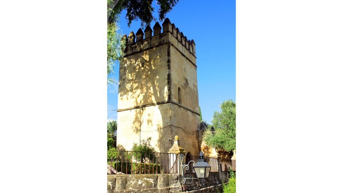 la  tour carrée de l'Alcazar