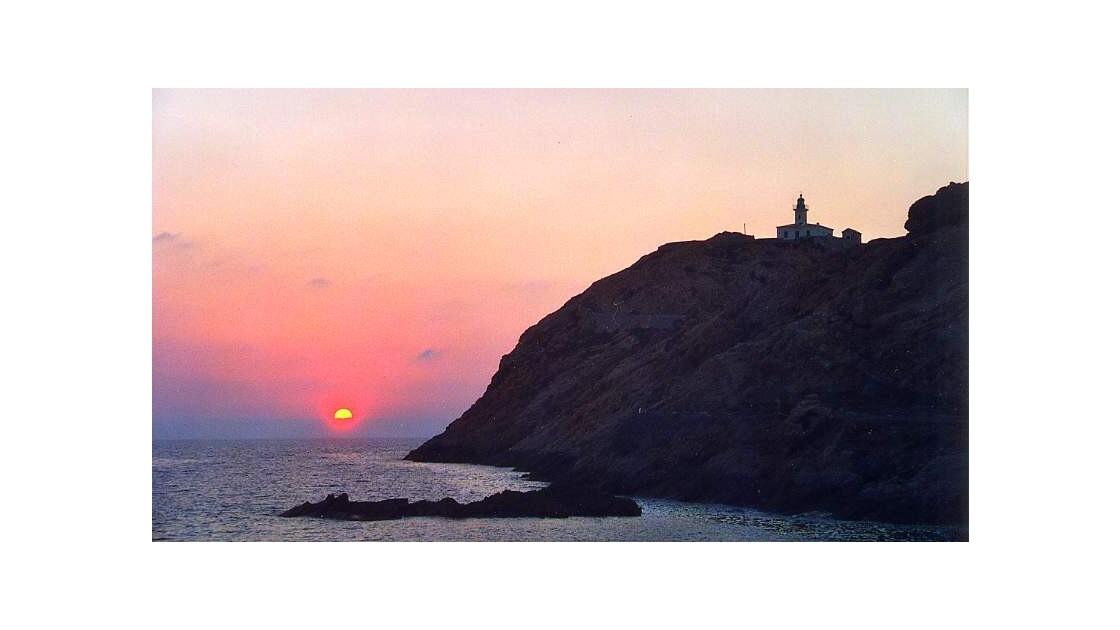 Coucher de soleil sur l'Ile Rouss