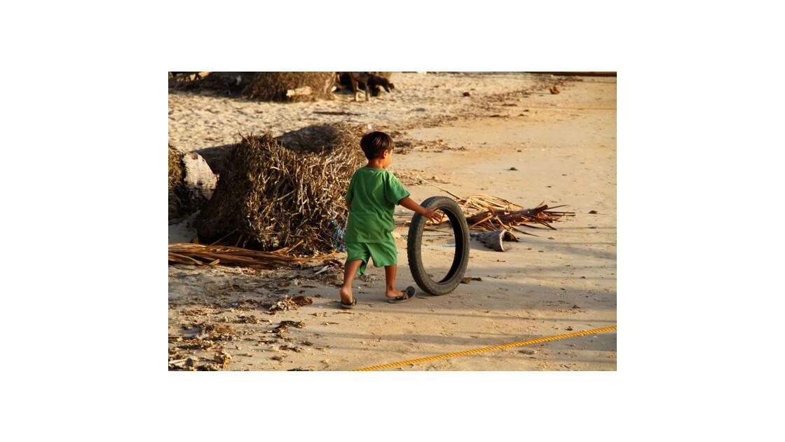 Enfant à Palawan