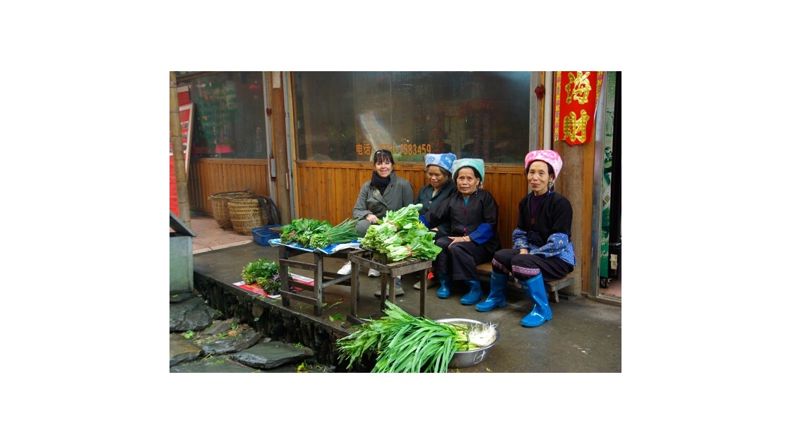 Vendeuses de légumes