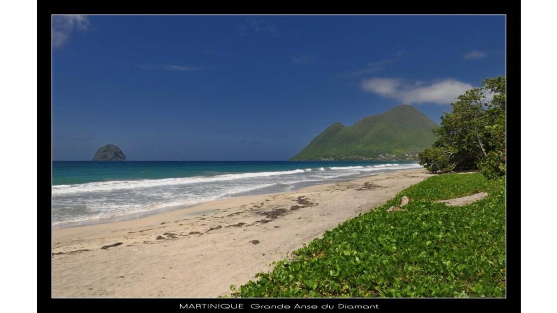 Martinique, anse du Diamant