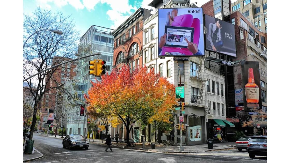 Un automne à NYC