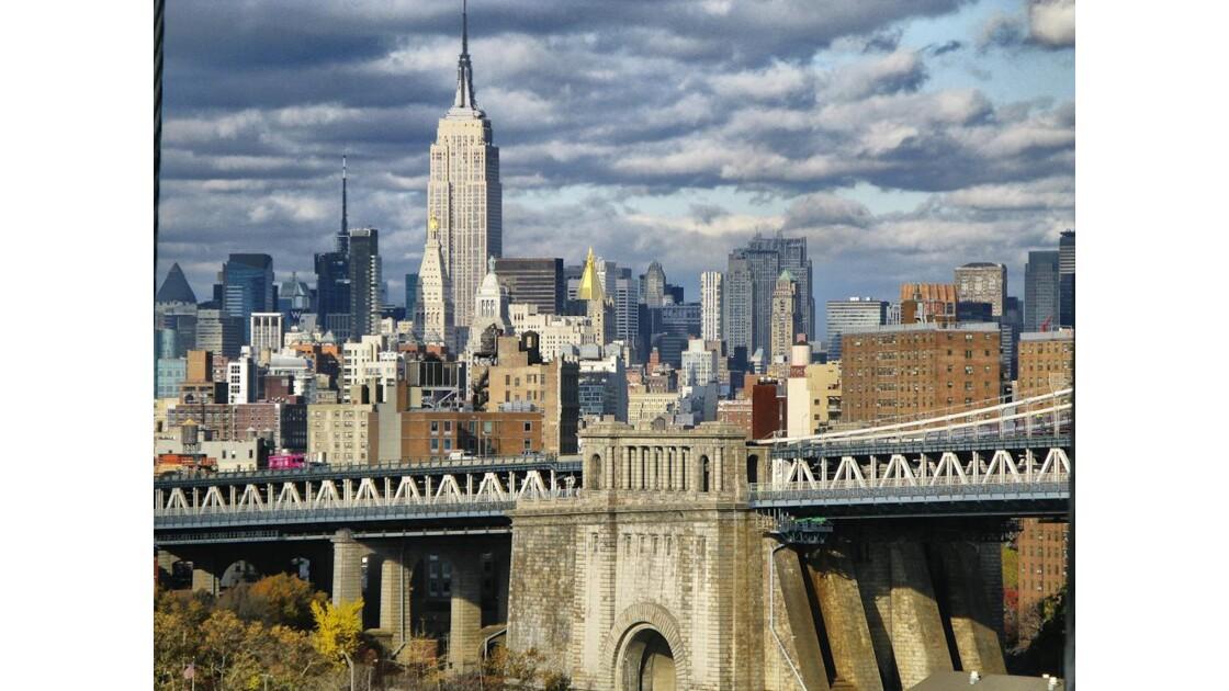 Manhattan, l'empire state bulding