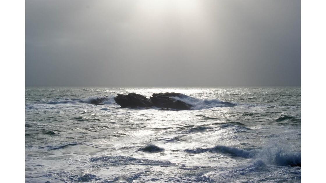 Mer d'hiver - Bretagne