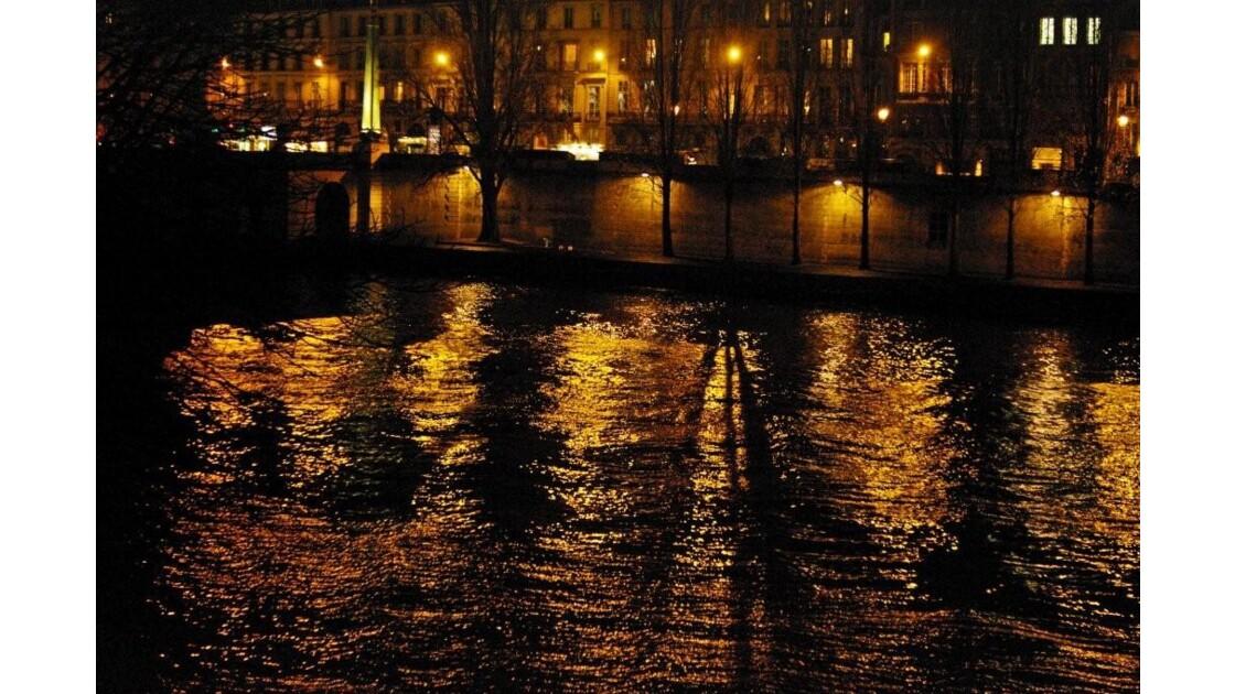 jeux d'ombres et de lumière sur la Seine