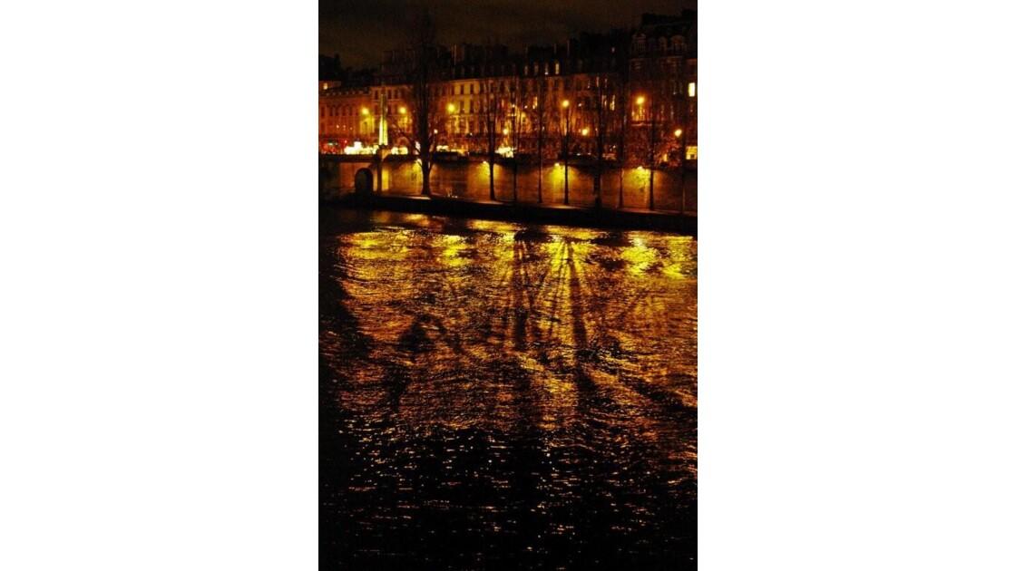jeu d'ombres et de lumière sur la Seine